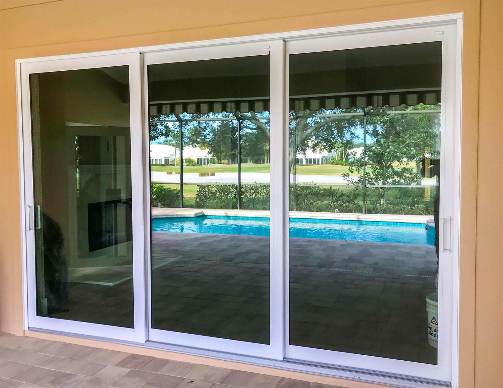 Aluminium Sliding Doors installation